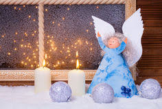 Christmas Angel Window Decorations by Christmas Angel Window Decorations Stock Photo Image 46672181