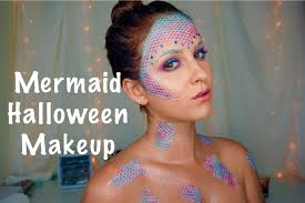 mermaid halloween makeup look costumes magic pinterest