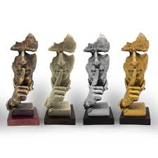 Decorative Sculptures For The Home Free Shipping Decorative Craft Resin Figure Statue Abstract