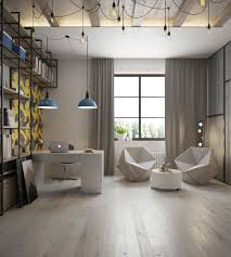 Industrial Home Design Unique Office Designs Art And Architecture Simple Home Office
