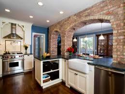 bathroom interesting exposed brick kitchen splashback
