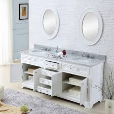 water creation derby 72w derby pure white double basin bathroom