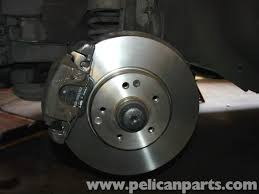 mercedes benz w210 front brake pad disc replacement 1996 03 e320