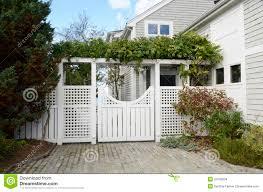charming gate house plan 4 fancy garden gate white shingle house