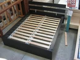 Ikea Hopen Bed Frame Sold Brown Ikea Hopen Size Bed Frame W Slats Ikea Hopen