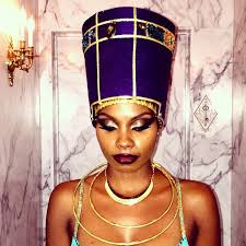 Nefertiti Halloween Costume Young Black Fabulous