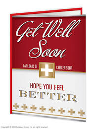 get well soon soup get well soon soup card brainboxcandy