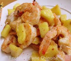 cuisine crevette recettes d une chinoise crevettes sautées aigre doux piquant à l