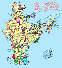 Indian Map Oh Darling Kiss Is India Agents Of Ishq