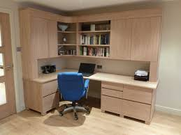 Wood Office Furniture by Built In Home Office Furniture And Desks Built In Home Office