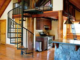 Open Balcony Design Interior Wood Spiral Staircases Design Ideas With White Small