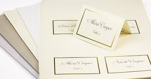 printable name place cards wedding place cards with guest names printed or blank