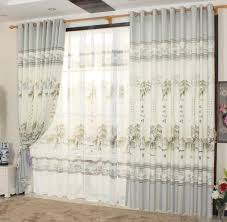 china curtain free shipping printing willow home decor