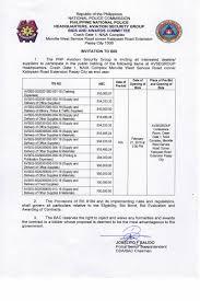 bid bond invitation to bid aviation security bac