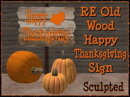 second marketplace re wood happy thanksgiving sign