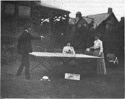 digital history project of ping pong in 1902
