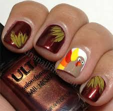 toe nail designs for thanksgiving best turkey nail designs