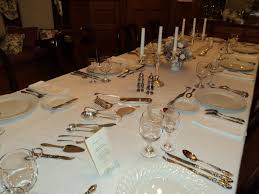 downton abbey inspired dinner and etiquette talk part 3
