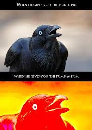 Crow Meme - crow meme 9gag