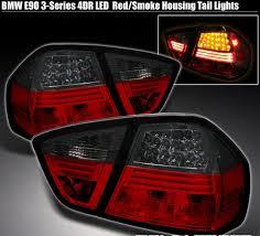 e38 euro tail lights e90 full led smoke red tail lights 2006 2008 buy headlights