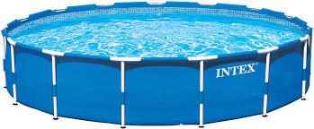 Intex Pool Filters Intex Metal Frame 15 U0027 X 48 U0027 U0027 Backyard Pool With Filter Pump