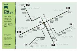 Wayne State Campus Map by 2017 Detroit Commuter Challenge Economic Development Wayne