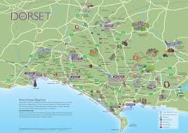 Map Of Monsoon Asia by Dorset Attractions Map
