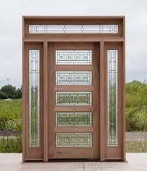 Shaker Style Exterior Doors Exterior Craftsman Shaker Door With Transom