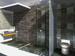 bathroom creative interior bathroom design with kitchen
