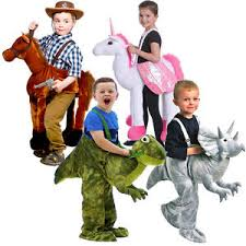 Horse Rider Halloween Costume Kids Dress Riding Costumes Dinosaur Horse Unicorn Ages 3 7