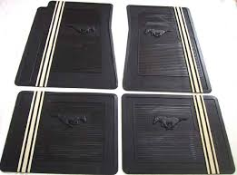 mustang mats ford mustang gt reproduction rubber floor mats by mustang market