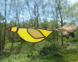 yellow bird etsy