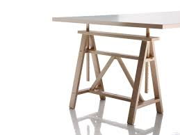 Adjustable Trestle Table Google Search Hand Crafted Timber - Trestle table design