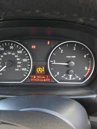 warning lights on bmw 1 series dashboard stop start warning light