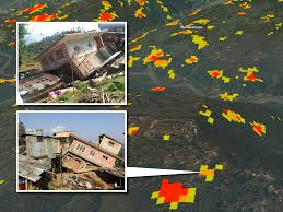 Future Map Of North America by Nasa Damage Maps May Help In Future Quakes Nasa