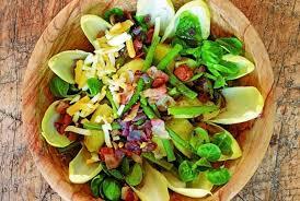 Best Salad Recipes Liégeoise Salad Recipe By Alain Coumont And Jean Pierre Gabriel