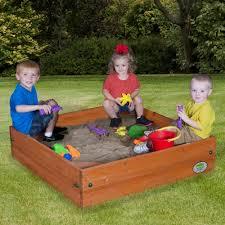 kidkraft backyard sandbox bed bath and beyond home outdoor