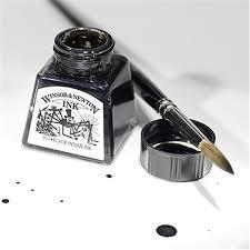 Drawing by Inks U0026 Charcoal Winsor U0026 Newton