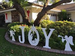 Nativity Outdoor Decorations Joy Christmas Yard Sign Home