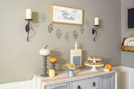 modern rustic thanksgiving tablescape with cricut major hoff