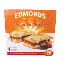 puff sheets buy edmonds butter puff pastry 750g 4 sheets online at countdown co nz