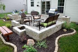 Hardscape Patio Backyard Patio Ideas With Pavers Home Outdoor Decoration