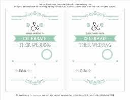 Fun Wedding Program Templates Wedding Program Templates Free Catholic Wedding Invitation Sample