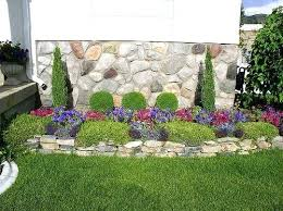 Backyard Flower Bed Ideas Landscape Flower Beds Best Low Maintenance Landscaping Ideas Only