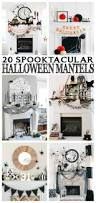 20 spooktacular halloween mantels awesome entryway and inspiration