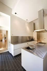 Contemporary Kitchen Backsplash by Best 20 Stainless Backsplash Ideas On Pinterest Stainless Steel