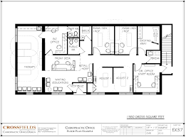 open layout house plans chiropractic floorplan with semi open adjusting u0026 therapy 1 980