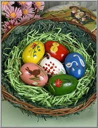 egg ornaments easter shop vintage wood egg ornaments expertic germany d