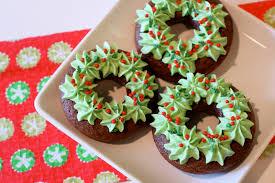12 days of christmas day 6 gf christmas wreath donuts