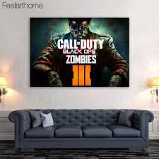 1 piece canvas art canvas painting call of duty zombies hd printed